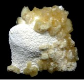 Heulandite on Mordenite