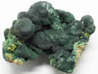 Malachite and Pyromorphite